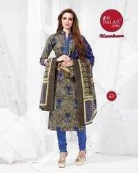 Cotton printed dressmaterials balaji kumkum vol-12