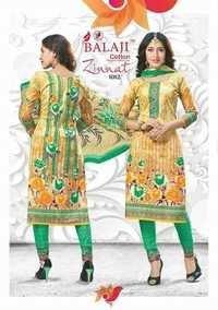 Fancy cotton suits balaji zinnat vol-1