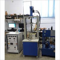 Bitumen, soil and concrete fatigue testing machine