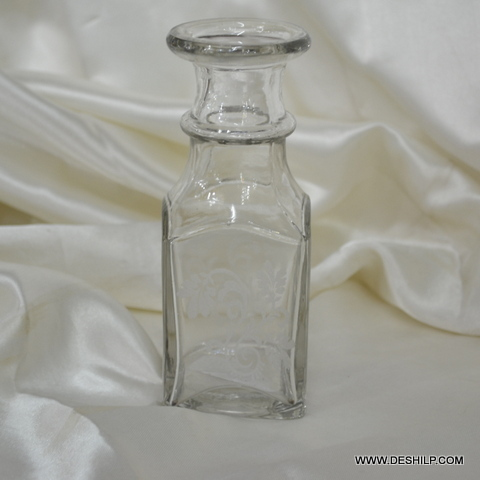 REED DIFFUSER GLASS PERFUME BOTTLE AND DECANTER, DECORATIVE PERFUME BOTTLE
