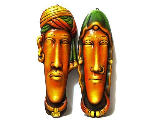 Rajasthani Face set of 2