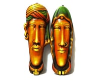 Rajasthani Face set of 2