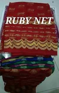 Fancy Blouse Pieces Ruby Net