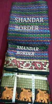 Shandar Border Blouse Piece