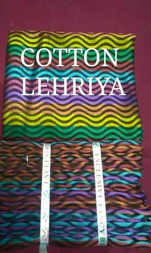Cotton Leheriya Blouse Piece