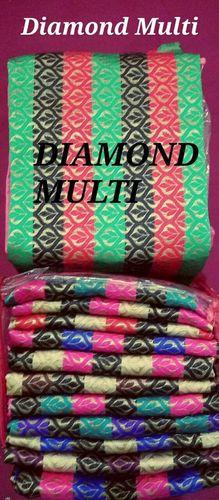Diamond Multi Blouse Piece
