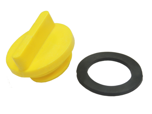 Oil Filler Cap with Ring
