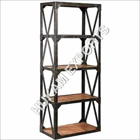 Industrial Wood Shelves
