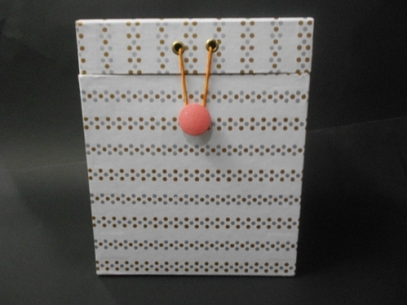 HandMade Paper Box For Storage