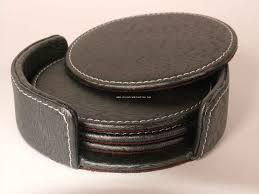 Leather Tea Coaster