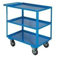 Three Deck Hospital Trolley