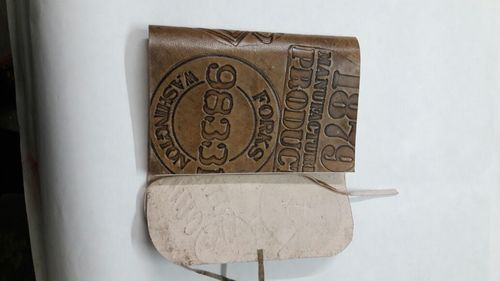 Leather Diaries with handmade paper