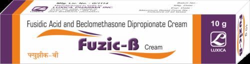Fusidic Acid & Beclomethasone Cream