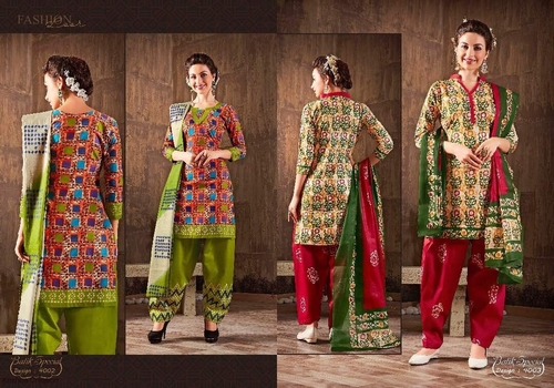 d64f0558fa Cotton salwar suits mayur batik special vol-4 - Cotton salwar suits ...
