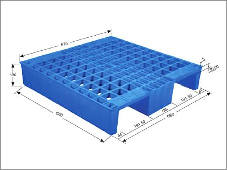 Plain Plastic Pallet