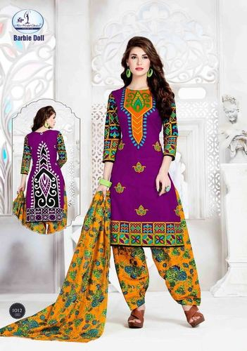 Miss World Cotton Printed Dress Material