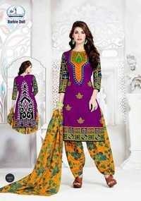 Cotton salwar suits miss world barbie doll vol-1