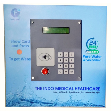 Smart Card Operated Water ATM Panel