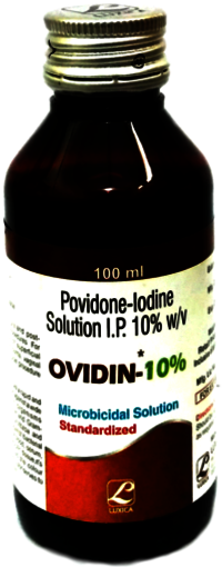 Povidone Iodine 10% Solution