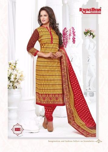 Rajasthan Cotton Printed Dress Material