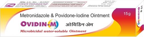Povidone Iodine & Metronidazole Ointment