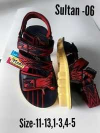 Red, Blue Colour Kids Sandal