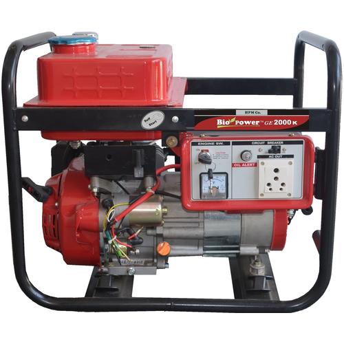 Portable LPG Generator 2KVA