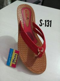 Women Synthetic Leather Slipper