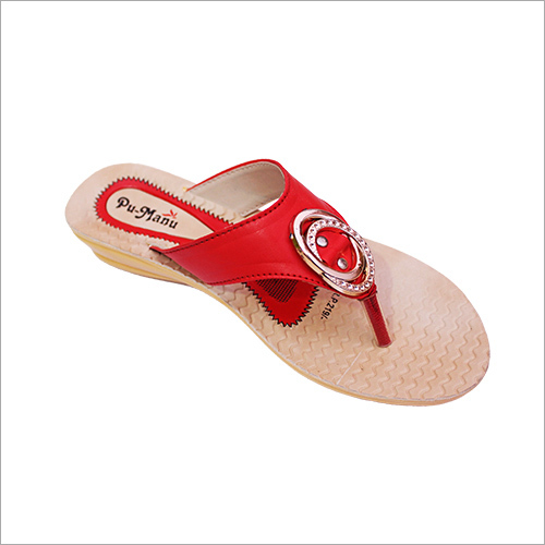 aa2d18fb1ba Poddar Women PU Slippers - Poddar Women PU Slippers Exporter ...