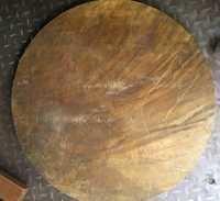 Brass Plate Circle