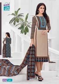 Printed cotton dress materials mcm ameera