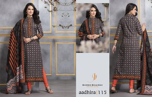 Bherav Cotton Printed Dress Matierial