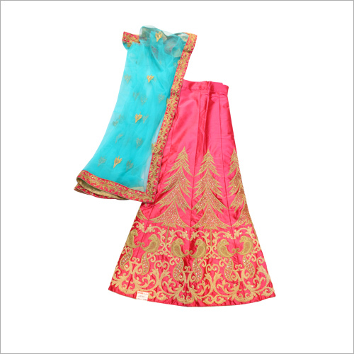 Resham Work Casual Lehenga Choli