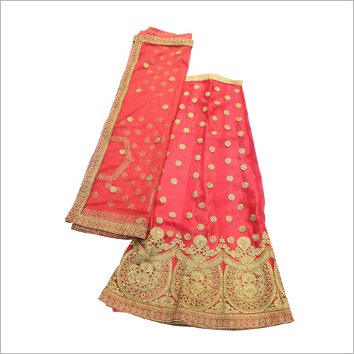 Skirt Worked Casual Lehenga Choli