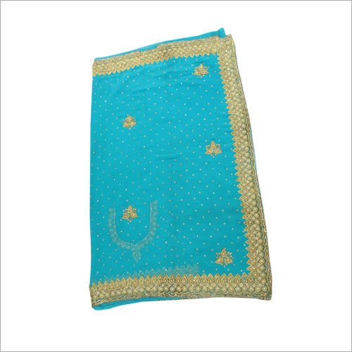 Handmade Cut Work Border Saree