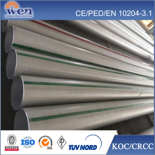 Stainless Steel EFW Pipes