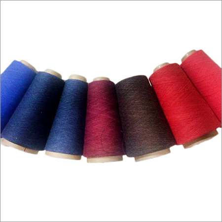 Dyed Open End Yarns