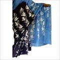 Malmal Cotton Hand Batik Print Sarees