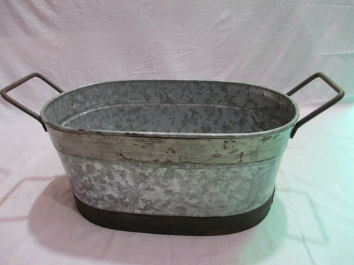 Galvanized Wine Tub