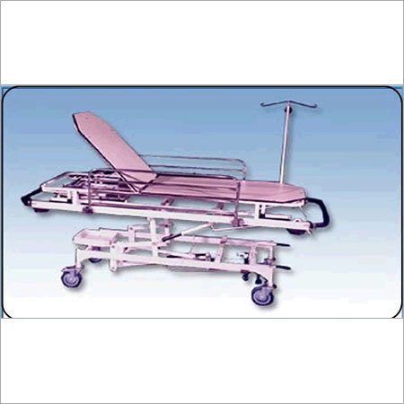 SS Patient Shifting Trolley