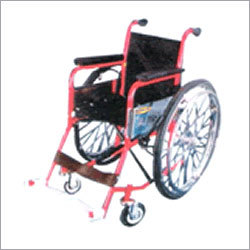 Invalid Wheel Chair Folding (Deluxe)