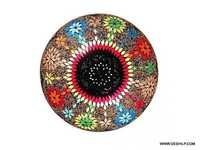 Antique And Decorative Ceiling Lights, Colourful Mosaic Ceiling Lights