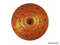 Ceiling Lamp pretty & unique design nice & colorful when the lamp