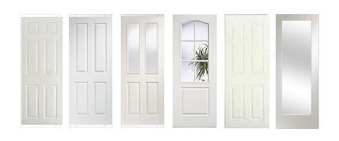 WPC White Door