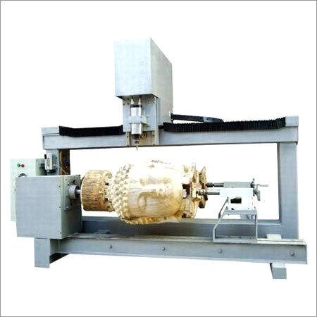 Pillar Carving Machine