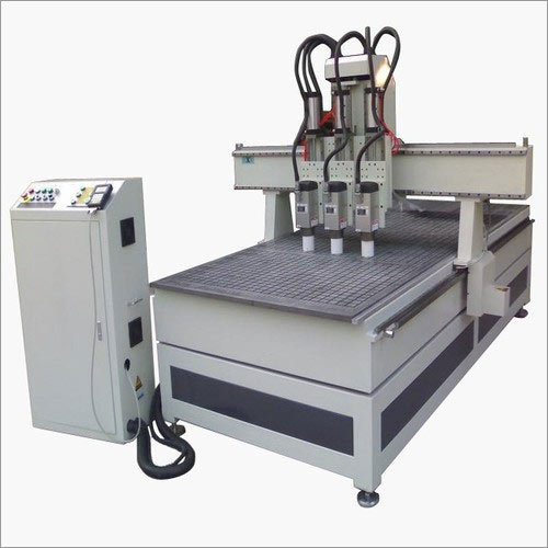 Woodworking CNC Router With Dust Collector and Vacuum System