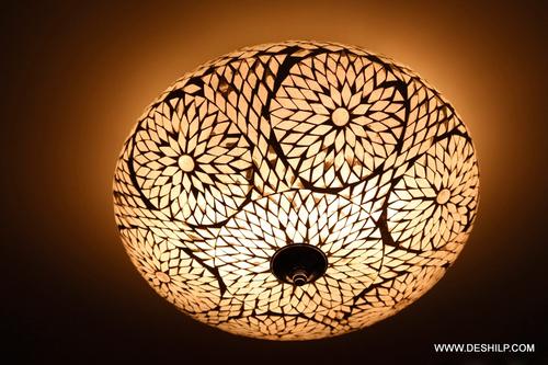 MOSAIC CEILING LIGHT,DESIGN GLASS CEILING LIGHT,DIWALI CEILING LIGHT