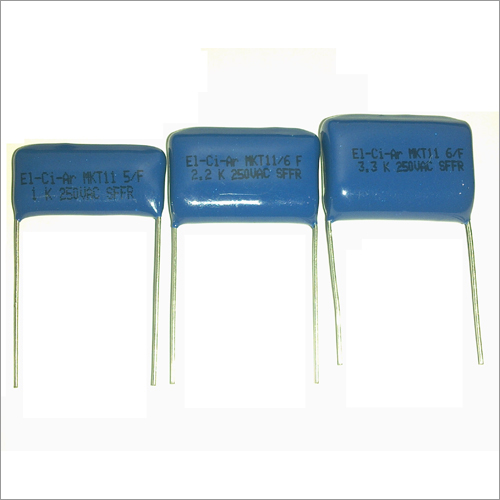 Metallized Polyester Fan Regulator Capacitors - MKT111 (1uF - 4.3uF in 250VAC)