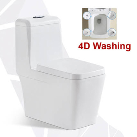 Siphon Flushing One Piece Toilet