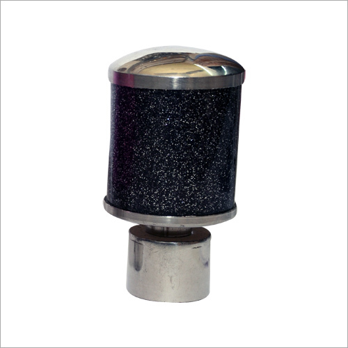Black Bling Sparkle Finial